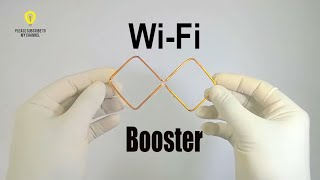 Homemade wifi booster , how to increase wifi signal