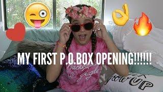 FIRST P.O. BOX OPENING || Mackenzie Ziegler