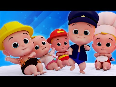 Five Little Babies | Nursery Rhymes | Songs For Kids | Children Rhyme By Junior Squad