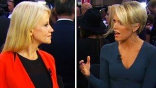 Megyn Kelly Laughs At Kellyanne Conway: