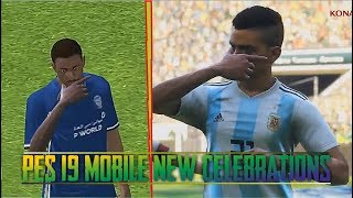 Pes 2019 Mobile • Celebrations We Will Like To See