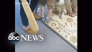 Mother Records 5-Year-Old Being Spanked at School