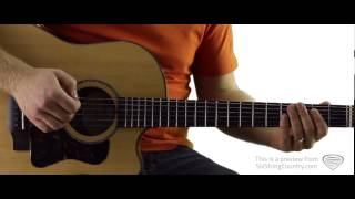 Sunshine and Whiskey - Guitar Lesson and Tutorial - Frankie Ballard