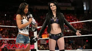 Paige addresses her attack on AJ Lee: Raw, July 28, 2014