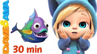🐠 Popular Nursery Rhymes and Baby Songs from Dave and Ava 🐠