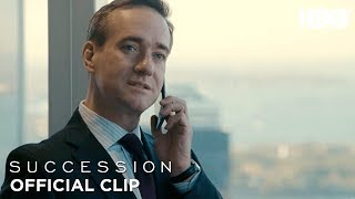 'You're on Speakerphone!' Ep. 5 Official Clip   Succession   HBO
