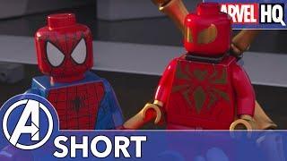 Iron Man Meets Iron Spider! | Marvel LEGO: Avengers Reassembled! | Episode 4