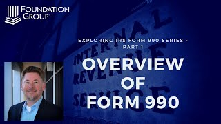 Overview of IRS Form 990