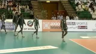 Pakistan Volleyball Team 2012 Uae
