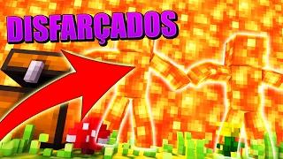 Minecraft: DISFARCE DE LAVA! (Desafio do Disfarce)