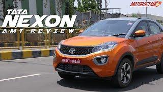 Tata Nexon AMT Review in Hindi | MotorOctane