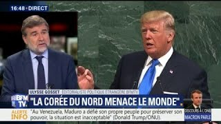 Ce qu'il faut retenir du discours de Donald Trump à la tribune de l'ONU