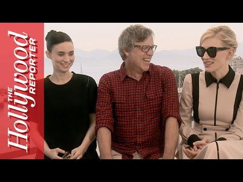 Xxx Mp4 Cate Blanchett Rooney Mara On Their Sex Scene In Carol Live From Cannes 2015 3gp Sex