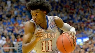 Kansas Guard Josh Jackson Has Injury Scare, Returns Strong | CampusInsiders