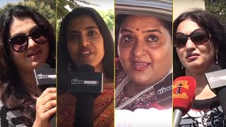 Sona | Kasthuri | Radha | Ambika | Suganya | Kuyili | Rohini - Nadigar Sangam Elections 2015
