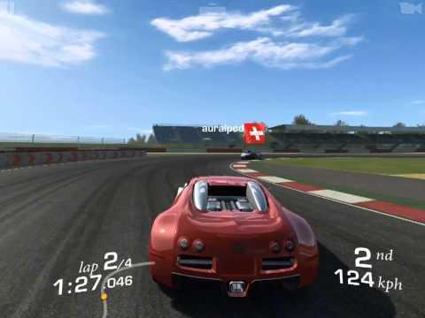 [iOS] Real Racing 3 - Bugatti Veyron 16.4, Cup, Silverstone (Grand Prix)