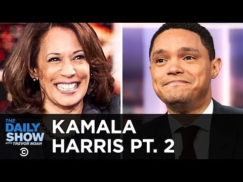 Kamala Harris on Her 2020 Presidential Campaign and Trump's Vanity Wall   The Daily Show