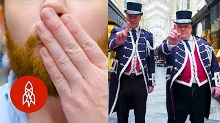 The English Officers Policing Politeness