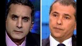 باسم يوسف يتحدي توقيق عكاشة و ذكريات معركة التوك شو