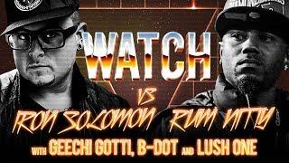 WATCH: IRON SOLOMON vs RUM NITTY with GEECHI GOTTI, B-DOT and LUSH ONE