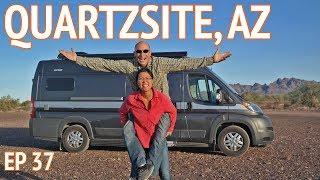 A Taste of Quartzsite, AZ | EP37 Camper Van Life