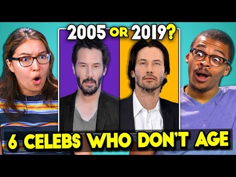 6 Celebrities Who Don t Age React