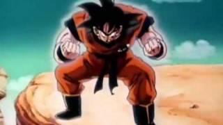 Goku (Kaioken Attack) Vs Vegeta OCEAN DUB