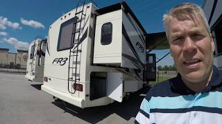 2018 Forest River FR3 25DS Motor Home Short Motorhome with Two Slides!