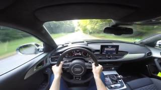 Audi RS6 Avant Performance 605HP POV Drive Onboard 4K Lets Drive  - 2016