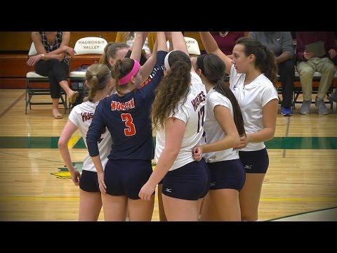Naperville North vs. Waubonsie Valley, Girls Volleyball // 10.18.16