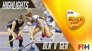 Belarus v Germany - Match Highlights Indoor Hockey World Cup - Women