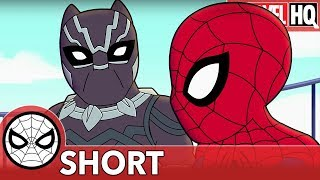 "We Need Spidey & Black Panther Right MEOW! | Marvel Super Hero Adventures ""Family Friendly"" 
