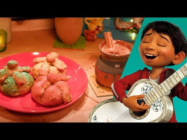 Pan de Muerto & Hot Chocolate | Disney Family