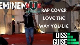 EMINEM INDIAN Mallu , Fastest Rapping, Love The Way You Lie