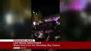Breaking News: Las Vegas Shooting Horrifying Footage Caught On Camera Today