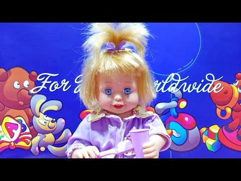 Funny And Cute Baby Lovely Doll Brush Teeth Doll With Sound ★ For Kids Worldwide