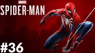 Spider-Man (PS4) #36 [PL] Walkthrough - Siłacz (Boss Rhino & Scorpion)