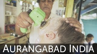 Back After 18-years! - Wet Shave and Head Massage with YouTubes Original Indian Barber !