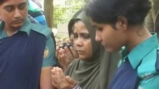 Raudha's rushed burial video