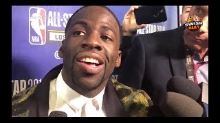 Draymond Green on his reaction during Fergie