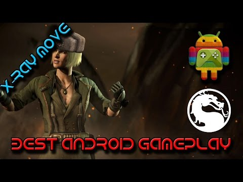 Demolition Sonya Blade All Special Attacks + X Ray Move Android