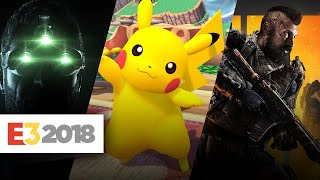 E3 2018: Every Leaked Video Game You