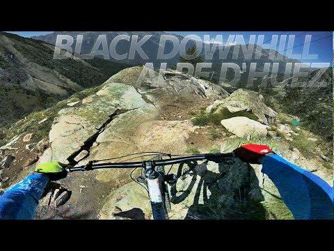 A PROPER DOWNHILL TRACK! black run