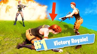 WIN EVERY MATCH WHEN YOU'RE DOWN! (Fortnite: Battle Royale)