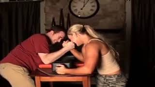 Epic Mixed Armwrestling Match Best Mixed Armwrestling