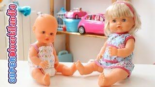 Muñeca Nenuco. Bebé con pelo. - Baby doll with pretty hair