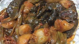 الدولمة البغدادية  (طعم رائع )  ( من مطبخ ام عمار للأكلات العراقية )
