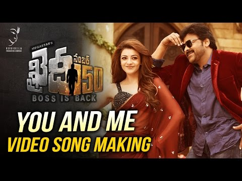 You And Me Video Song Making