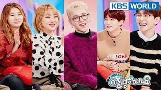 Guests : Narsha, Jea, Block B's Park Kyung,Taeil,Jaehyo[Hello Counselor/SUB : ENG,TAI / 2018.02.05]