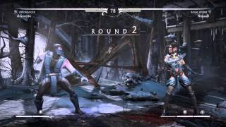 MKX Online - Sub Zero Opens Can Of Whoop Ass